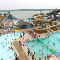 Nashville Shores water park in Tennessee