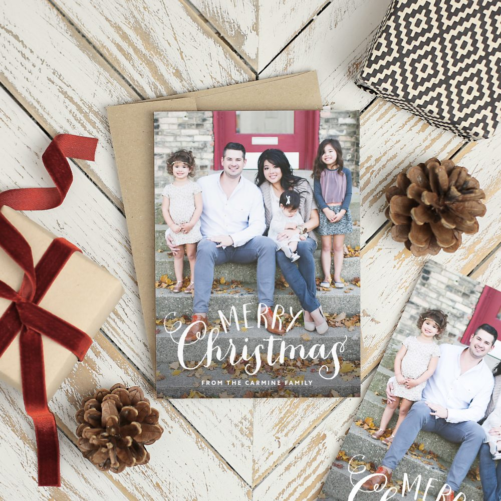 Photo Christmas Cards Family