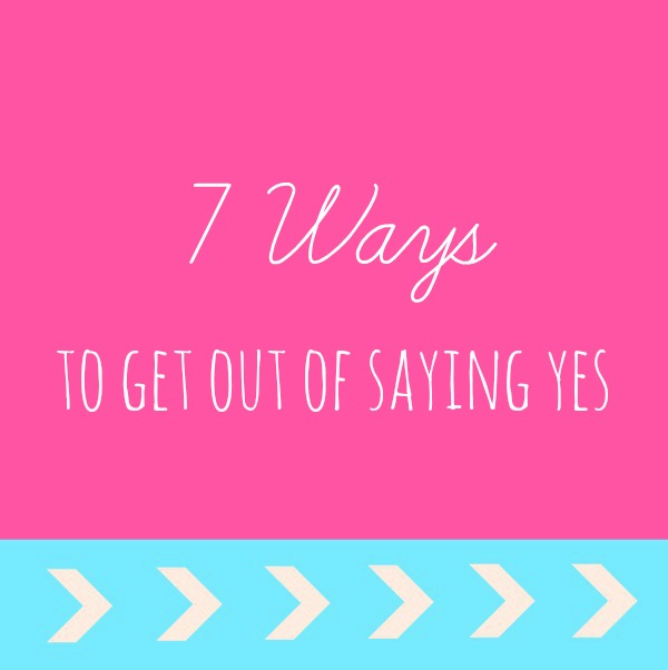 tips for moms to say no