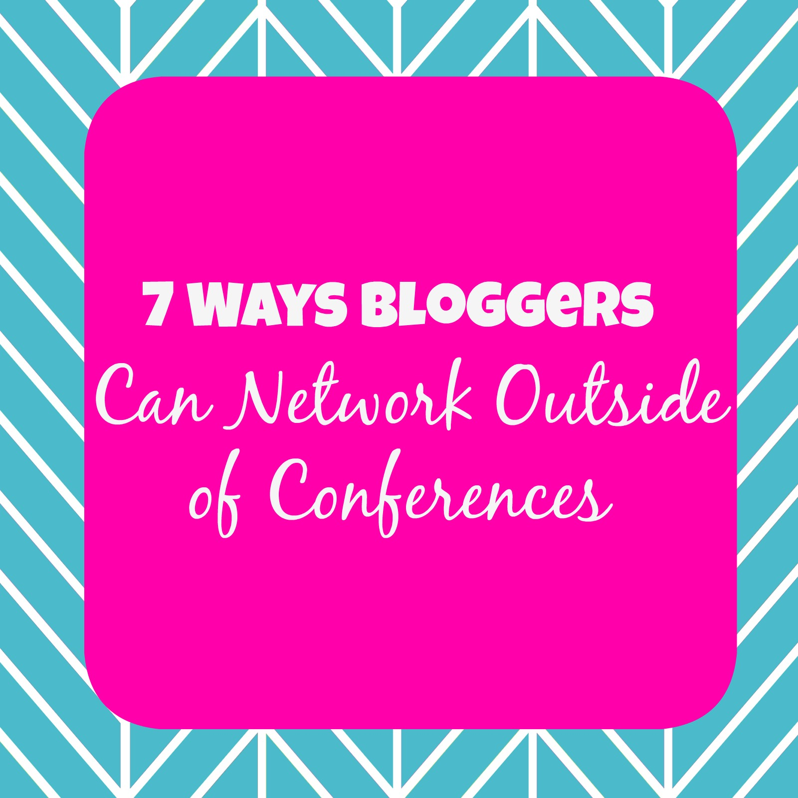 blogger networking tips