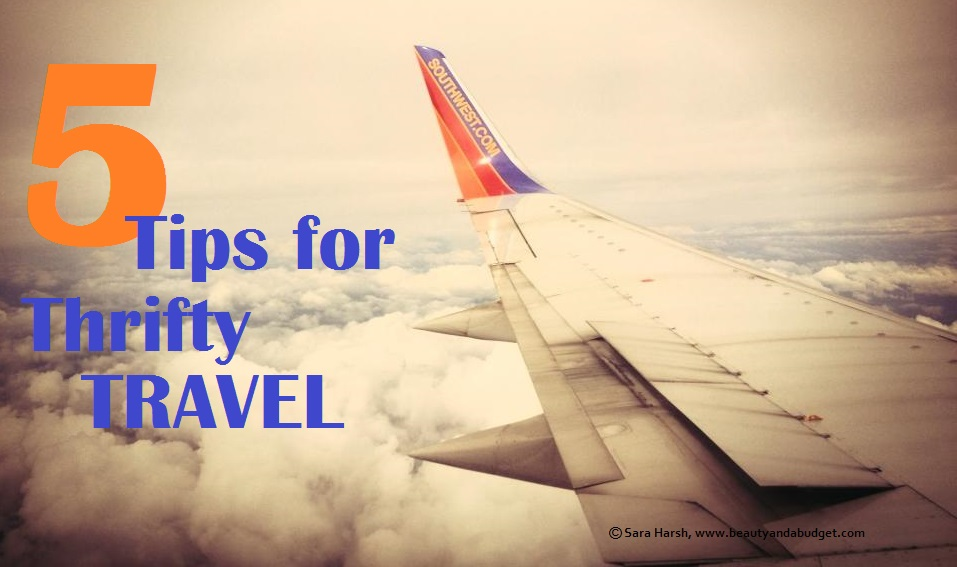 thrifty travel tips