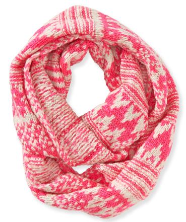 Infinity Pink Scarf