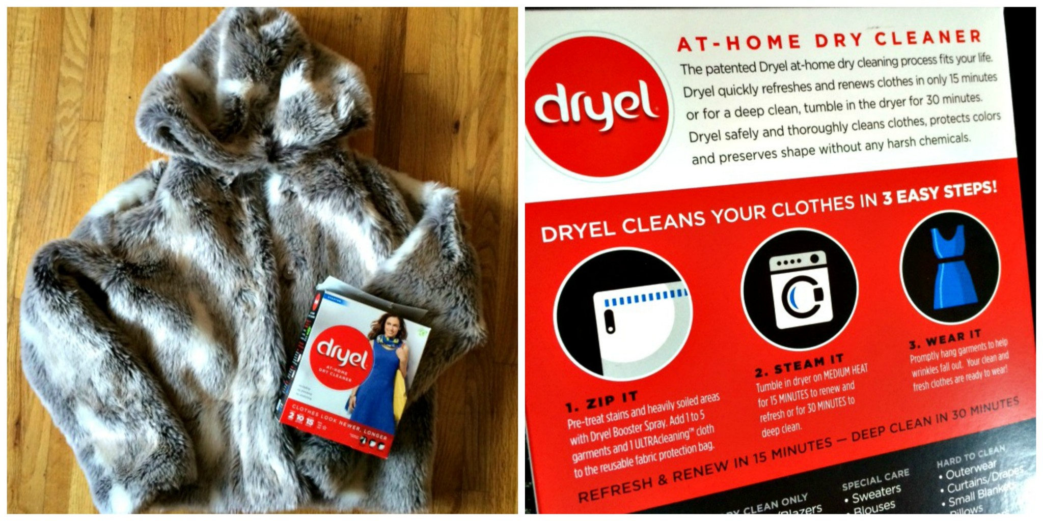 how to dry clean wool coat at home