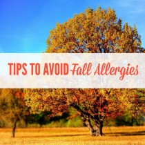 tips to survive fall allergies blondemomblog