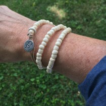 One Good Deed Wrap Bracelet