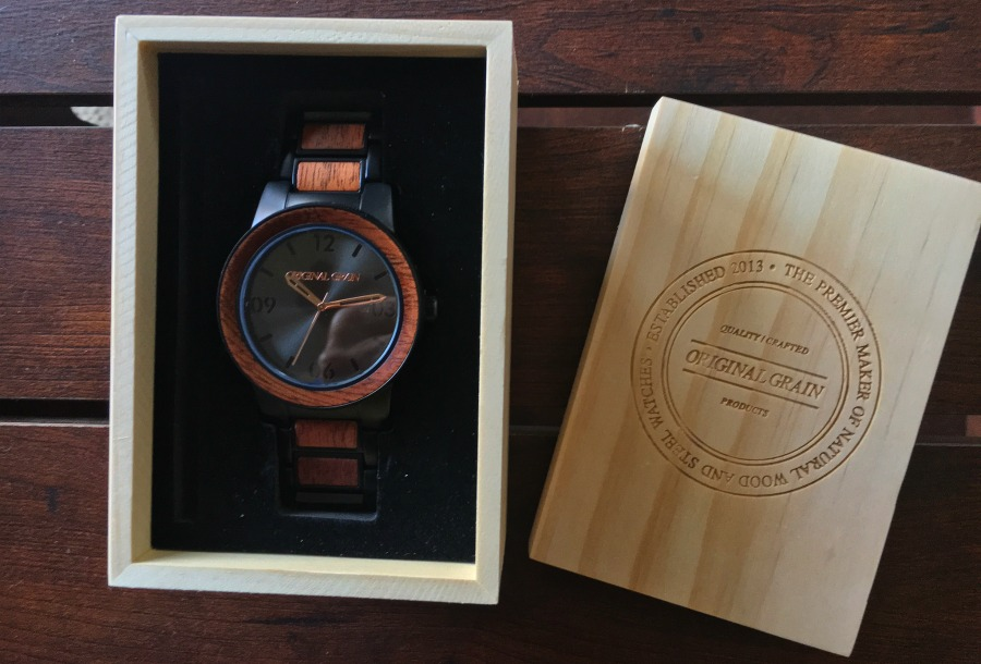 Original Grain Wood Watch
