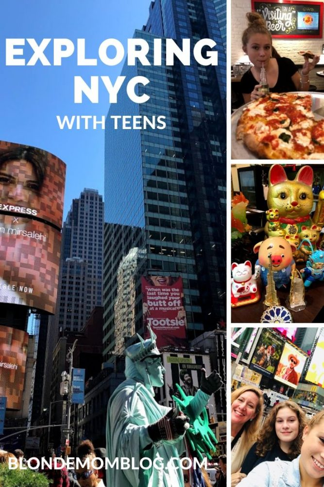 exploring New York with teens